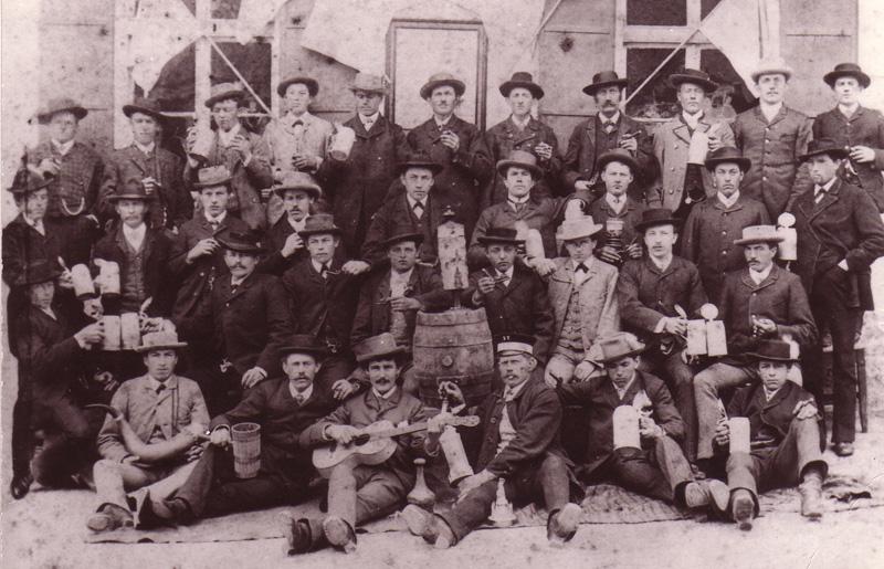 Gründungsfoto aus dem Jahr 1892