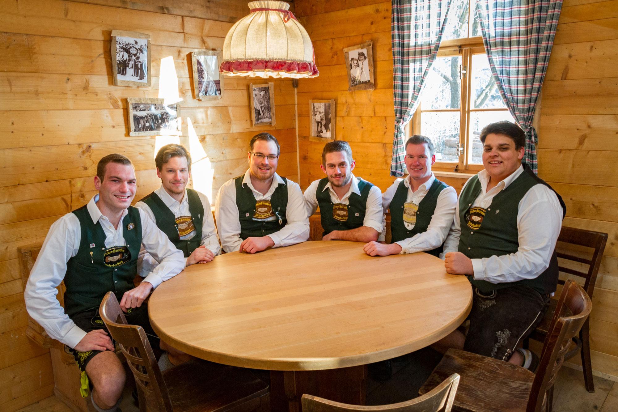 Birker Burschen Vorstandschaft 2015