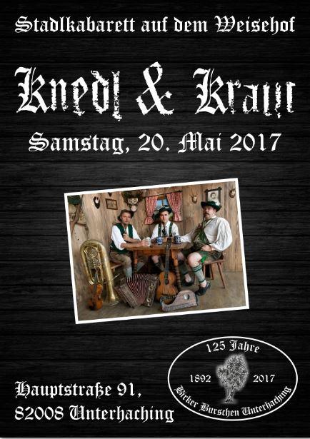 Knedl und Kraut Plakat Homepage
