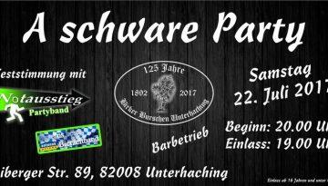 Plakat Schware Party